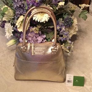 Well loved Kate Spade Small Meade Bag